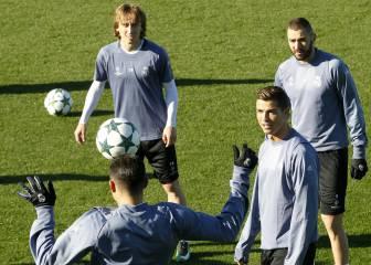 Cristiano, Modric y Benzema no jugarán ante el Deportivo