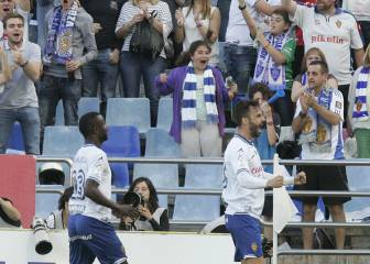 Seis triunfos del Zaragoza en siete visitas del Oviedo