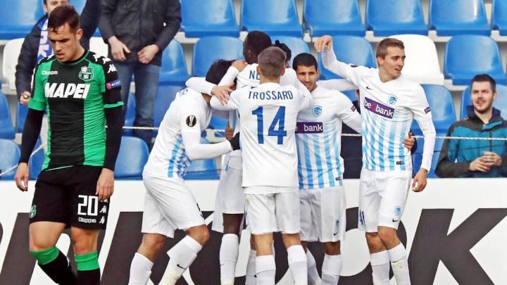 La victoria del Genk ante el Sassuolo deja al Athletic segundo
