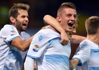 El Lazio vence a la Sampdoria y sigue en zona europea