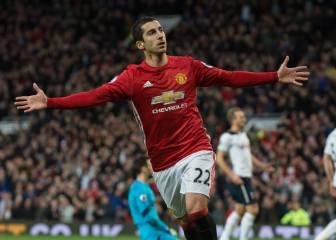 Mkhitaryan da la victoria al United más de un mes después
