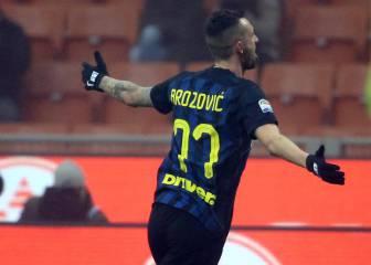 El Inter gana al Genoa ante las amenazas de sus tifosi
