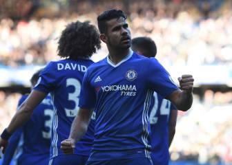 Diego Costa ha dado más de un tercio de los puntos al Chelsea