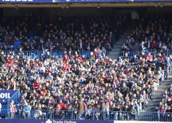 Casi 15.000 personas para ver el Atleti-Barça en el Calderón
