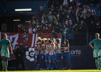 Fiesta en el Calderón y el Atlético se coloca líder