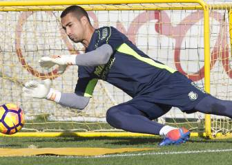 Asenjo recibe al Atlético de Madrid como el menos goleado