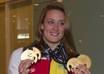 12-D: Mireia Belmonte bate el récord del mundo en 1.500 m