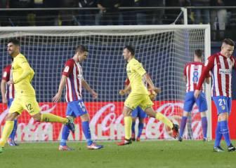 El Atlético se despeña
