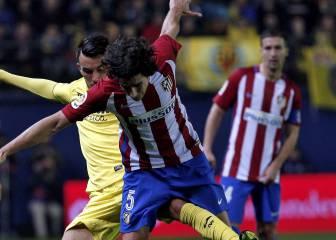 Tiago falla en el 1-0 y Simeone le cambia por Saúl al momento