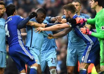 Chelsea y City, multados por las peleas entre sus jugadores