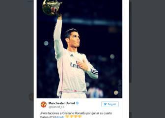 Fans del United, indignados con el apoyo del club a Cristiano