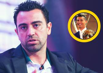 Xavi no está de acuerdo con el Balón de Oro a Cristiano