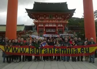 800 seguidores madridistas han viajado a Japón para animar