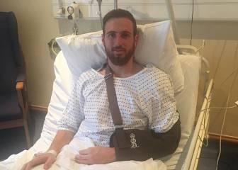 Oblak agradece el apoyo tras la operación en el hospital