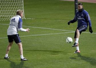 Ramos apunta a la final