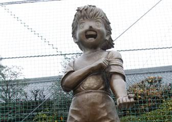 El barrio donde nació y vive Takahashi, un museo de la serie
