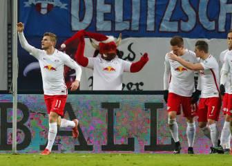 El Leipzig se lame las heridas y recupera el liderato alemán