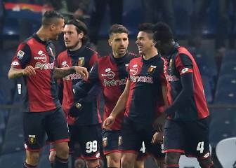 Simeone firma otro doblete con el Genoa; el Lazio gana a la Fiore