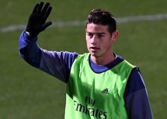 James juega la mitad con Zidane que con Ancelotti y podría irse