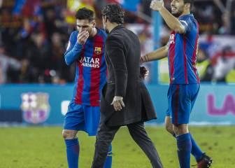 """Quique: """"Messi podría hacer un 'hat-trick' en cada partido"""""""