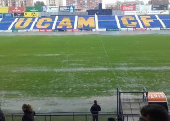 Suspendido el UCAM-Levante por las intensas lluvias