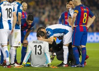 Diego López espera llegar al Espanyol-Depor del 6 de enero