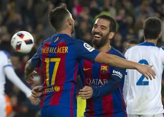 Las imágenes del Barcelona-Hércules