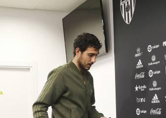 Parejo, ausente en Mestalla con permiso del club