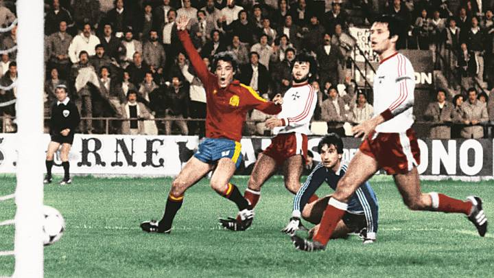 Gol de Poli Rincón en el España 12-1 Malta.