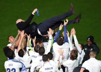 Las 11 decisiones de Zidane que explican los 11 meses de éxitos