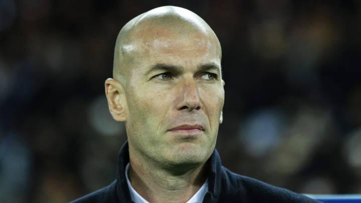 Zinedine Zidane, en imagen de archivo con el Real Madrid.