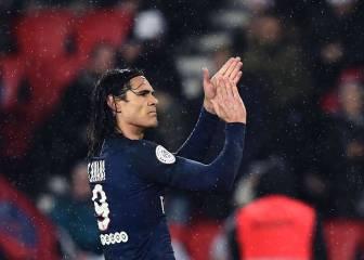 La increíble prima de Cavani si termina pichichi de la Ligue 1