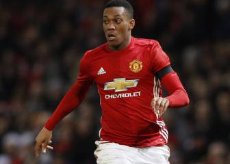Sevilla interested in Anthony Martial loan deal