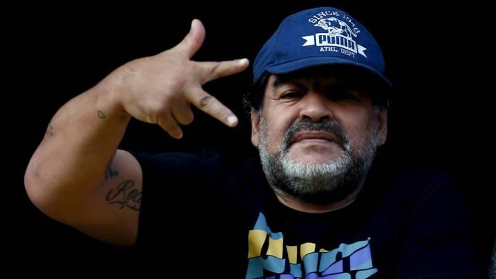 """Maradona: """"Me gustaría que el Real-Nápoles se jugara hoy"""""""