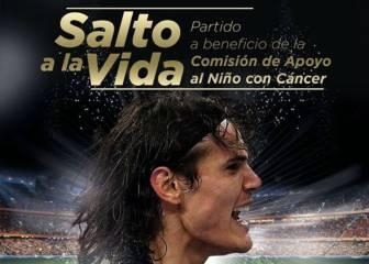 Cavani revoluciona Uruguay con un partido amistoso