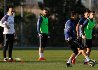 Los deberes de Zidane en la vuelta al trabajo: Pepe, James...