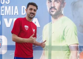 Villa habla claro: el Madrid, el Valencia, Luis Enrique, su futuro...