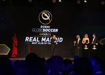 Triplete en los Globe Soccer: mejor club y mejor presidente