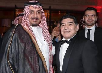 Maradona habla del duelo Madrid-Napoli por Champions