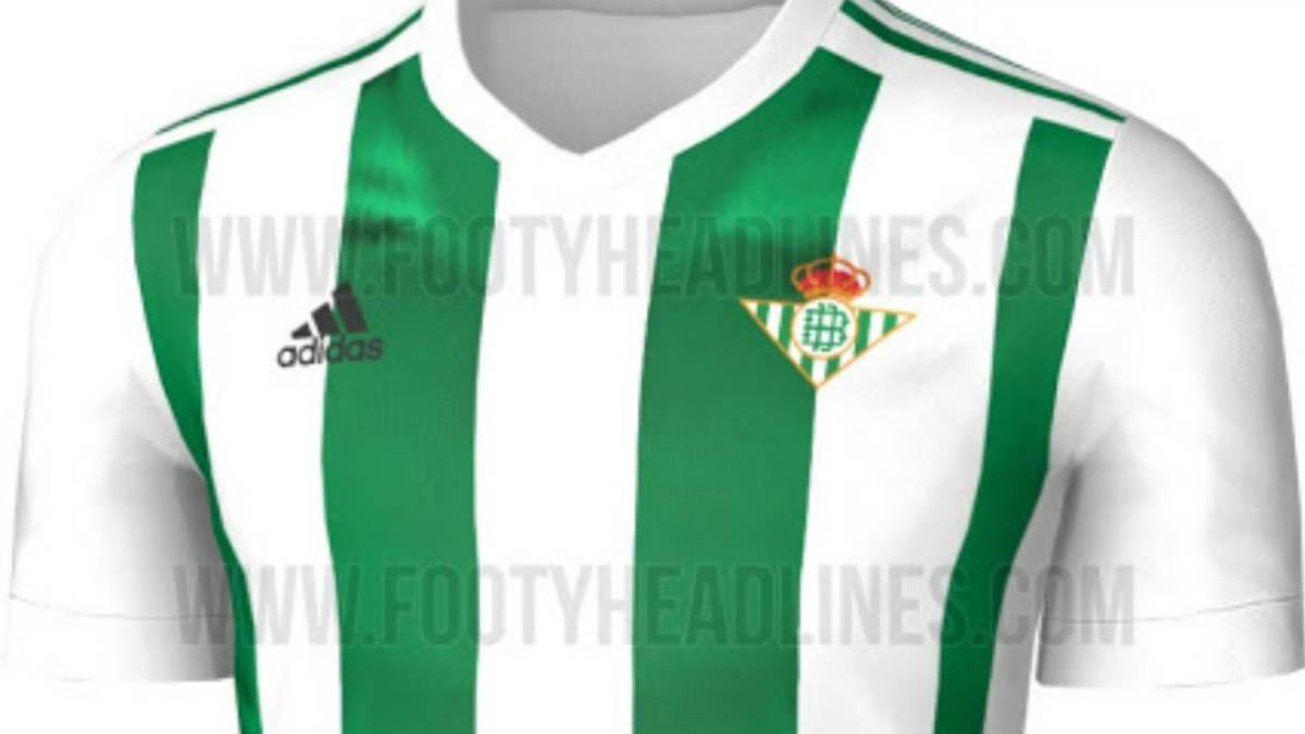 camisetas de futbol Real Betis modelos