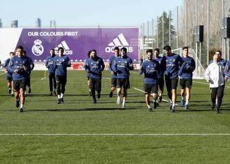 El Madrid ya trabaja con la mente puesta en el Sevilla
