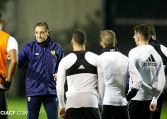 El Valencia regresa al trabajo con la novedad de Vinicius