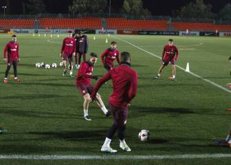 El Atleti vuelve al trabajo con Filipe pero sin Tiago