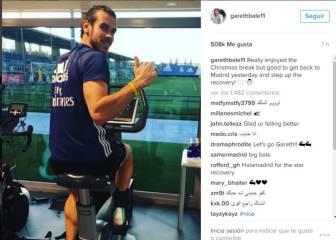 Bale vuelve de las vacaciones centrado en su recuperación