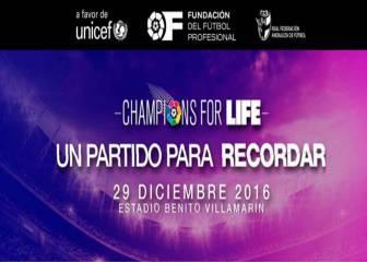 Champions for Life: Selección Andaluza vs Selección LaLiga en directo online