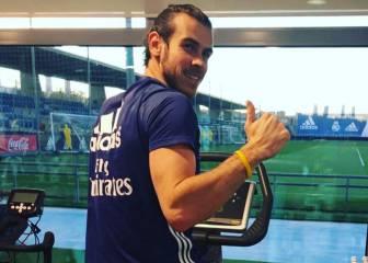 Gareth Bale se machaca para volver a jugar antes de abril