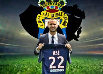 Tres grandes de Europa pujan por Jesé y frustra a Las Palmas