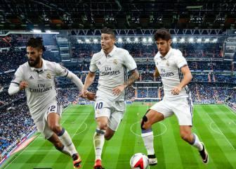 Nuevo plan de Zidane sin Bale ni Lucas Vázquez: James, Isco...