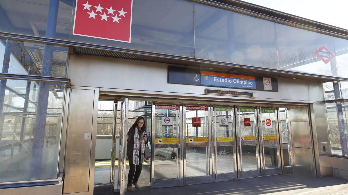 La CAM llamará Estadio Metropolitano a la estación de Metro del campo del Atlético