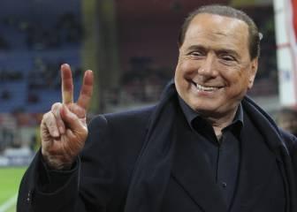 Berlusconi se compara con el mítico Santiago Bernabéu